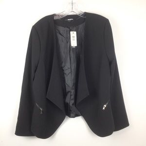 UNLISTED By Kenneth Cole Black Blazer Size 16